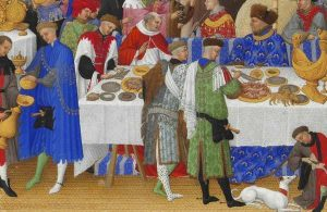 Mediavel banquet featuring abundance