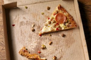 a leftover slice of pizza is so much more than a memory of a pizzeria