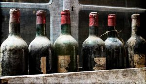 dusty bottles of wine that are long forgotten, avoid ordering them