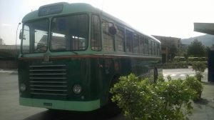 take any old bus to get around the city