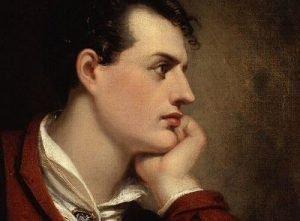 Lord Byron loved a good pasta c'anciova