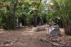 the English cemetery; an oasis of rest in the city
